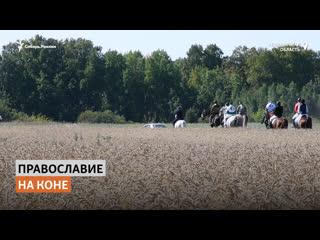 Крестный ход на конях начался в Кузбассе | Сибирь.Реалии