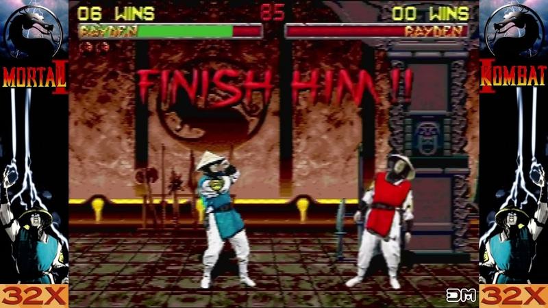 Mortal Kombat II All Babalities Friendships Finishers Sega 32x
