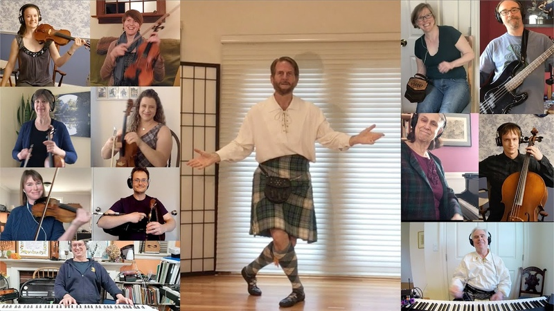 Scottish Suite, performed by members of the Cambridge Class (Boston Branch, RSCDS)