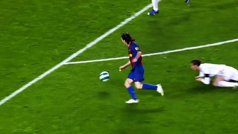 Just Watch How 19 Year Old Messi Was Destroying EVERYONE!
