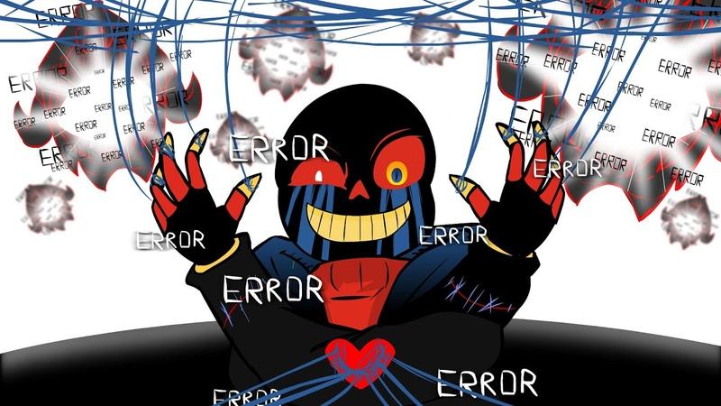 ERROR!Sans Animation - Stronger Than you