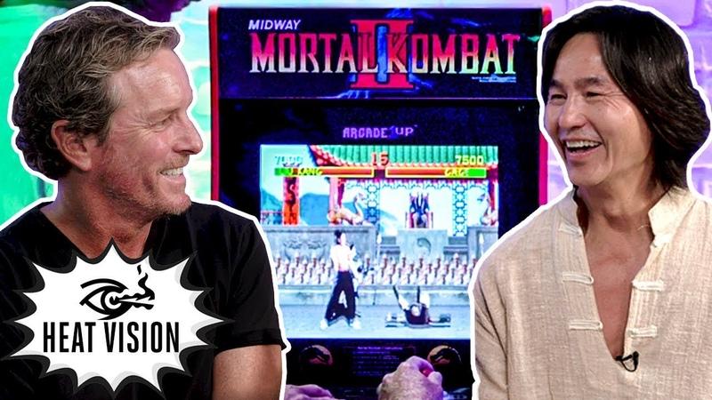 'Mortal Kombat' Stars Play 'Mortal Kombat': Robin Shou vs Linden Ashby! | Heat Vision