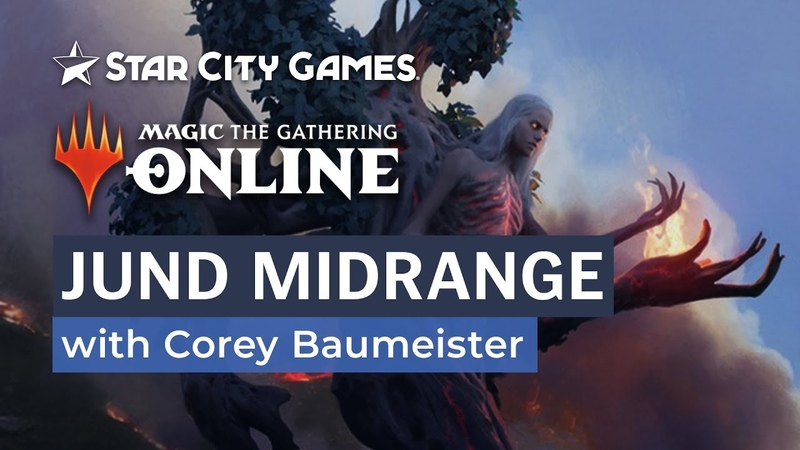 Jund Midrange with Corey Baumeister | MTG Online | Modern