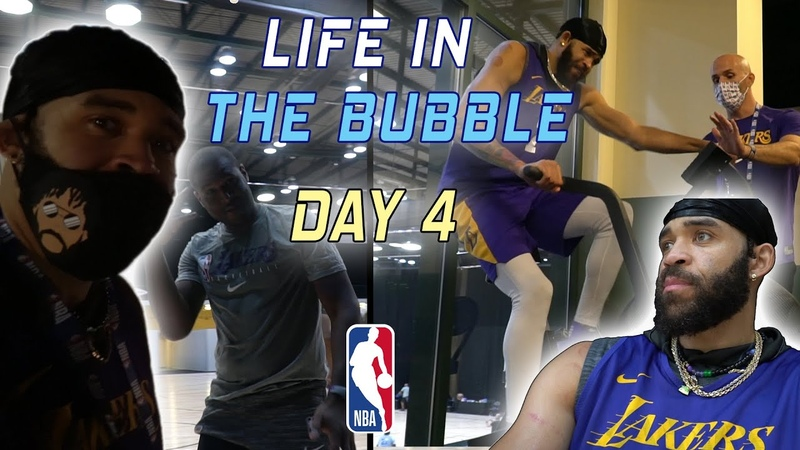 Life in the Bubble - Day 4 | JaVale McGee Vlogs