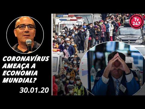 Coronavírus ameaça a economia mundial