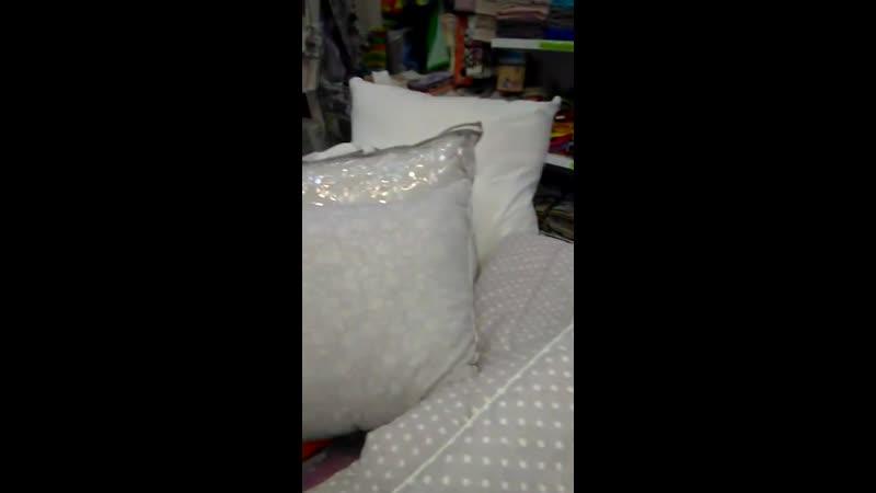 Новинка! Одеяла и подушки с наполнителем из берёзового волокна в магазинах Мега-Ивушка в Йошкар-Оле.