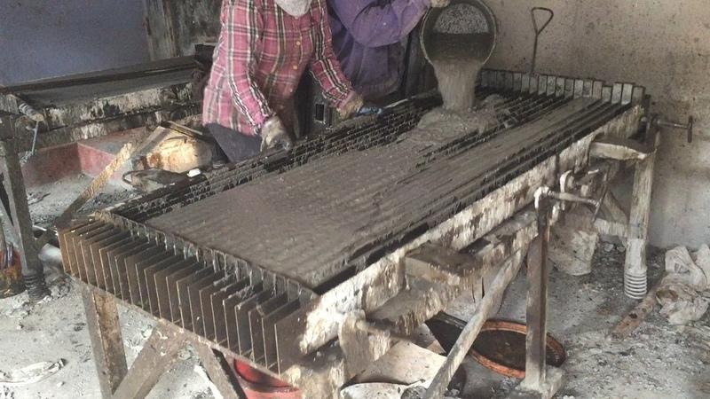 Construction Plans Production A Concrete Fence Precast Traditional Techniques Craft Skills