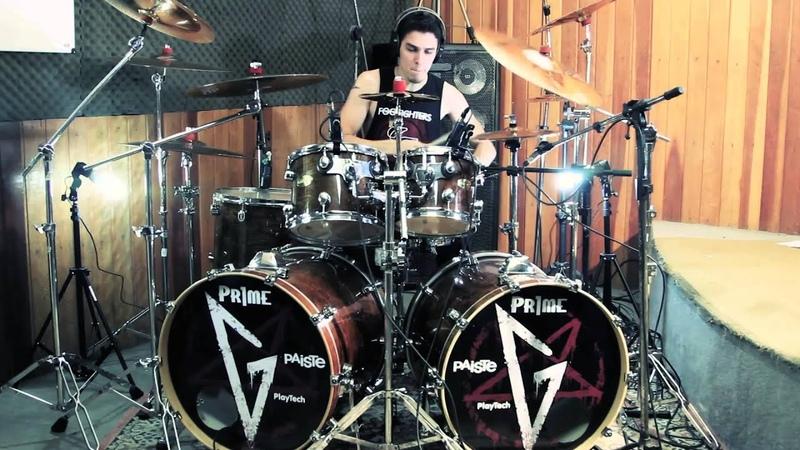 Ricky Machado B4MV Scream Aim Fire Drum Cover