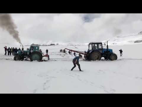 Синий трактор Трактор на бездорожье Off road tractor