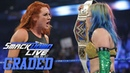 WWE SmackDown Live: GRADED (8 Jan) | Becky Lynch vs Charlotte Flair vs Carmella, Daniel Bryan More