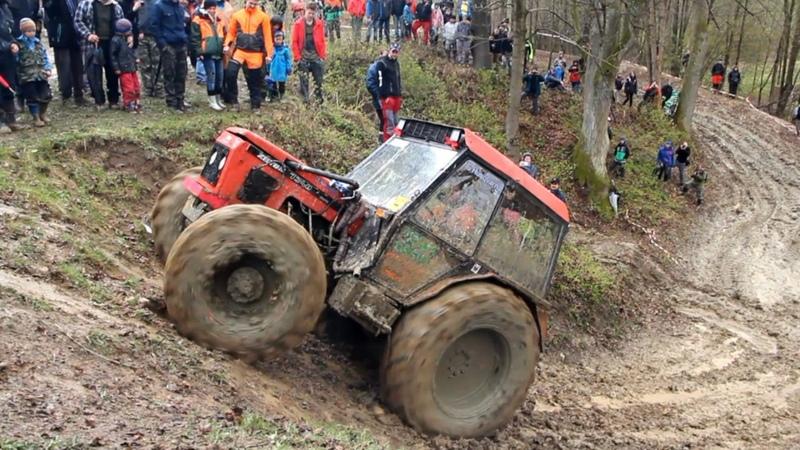4 5 Traktoriáda Zděchov 2017 volná zábava v bahně