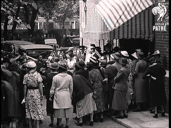 Knightsbridge Wedding 1937