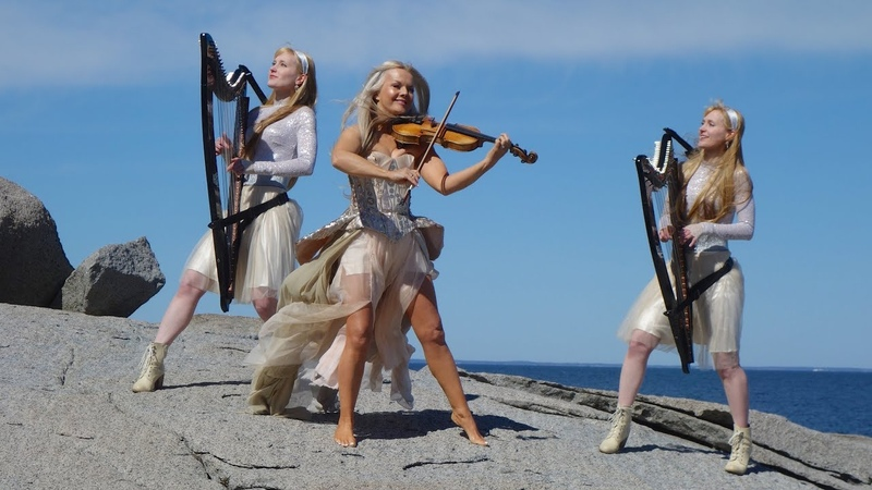 Celtic Heart PBS Special Kid ar an Sliabh feat. Harp Twins Máir ad Nesbitt