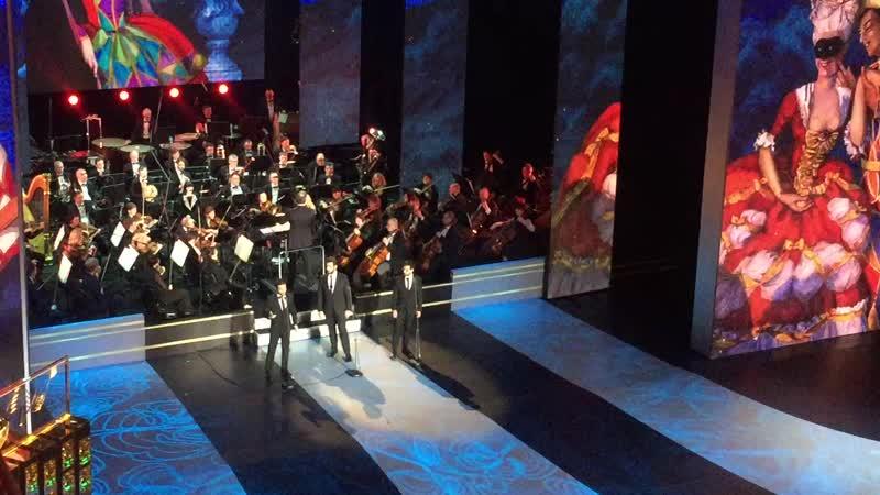 Il Volo Libiamo ne 'lieti calici Bolshoi Theatre 19 03 19