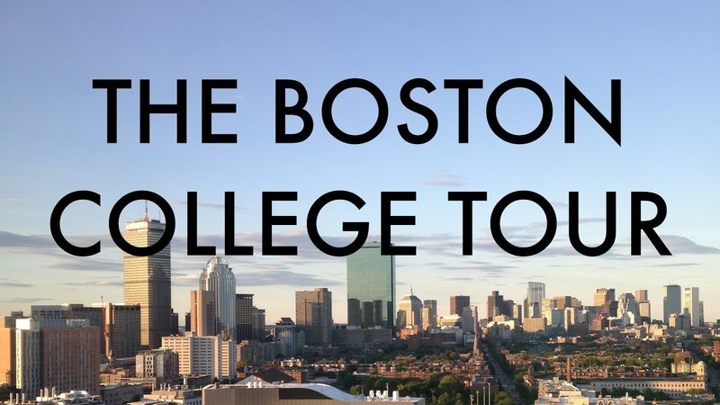 The Boston College Tour 9 universities in 9 minutes