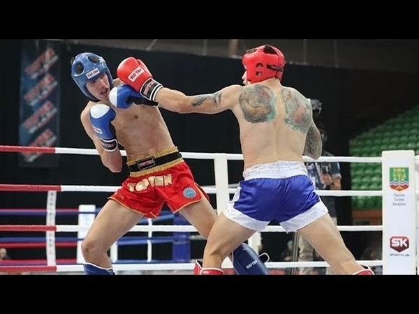 Vlad TUINOV vs Nikola TODOROVIC The final battle of the WAKO World Championship