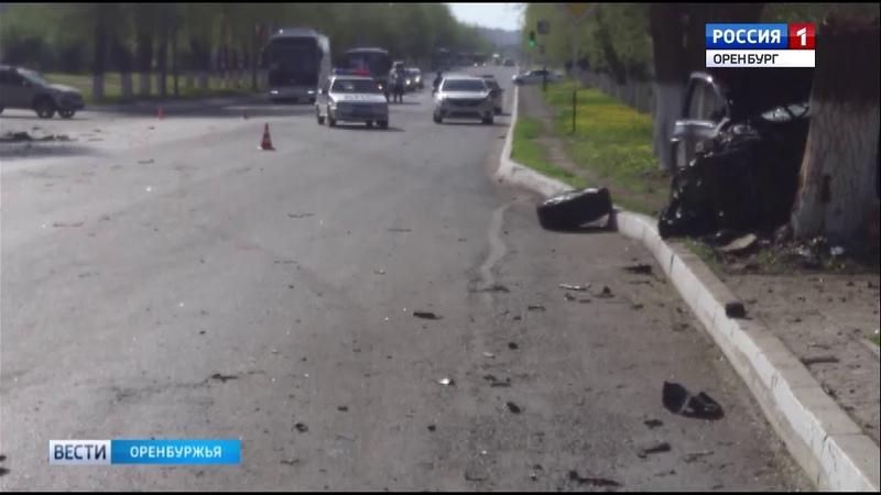 В Оренбурге в ДТП погибла 16 летняя девушка