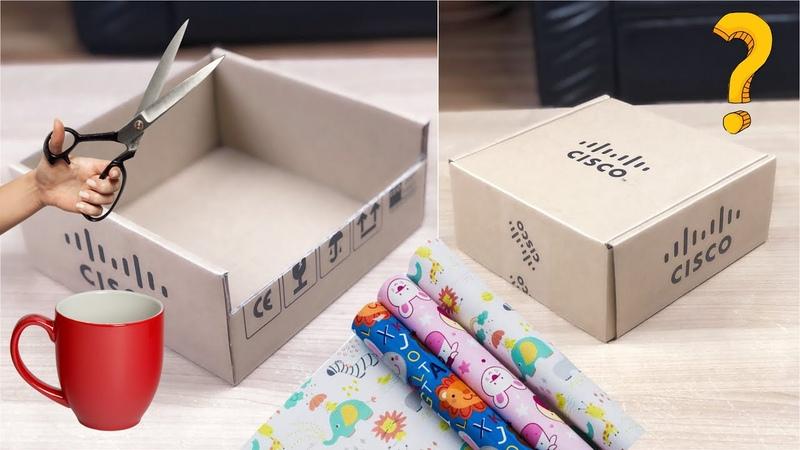 Karton Kutu ile Harika Geri Dönüşüm Fikri Kendin Yap