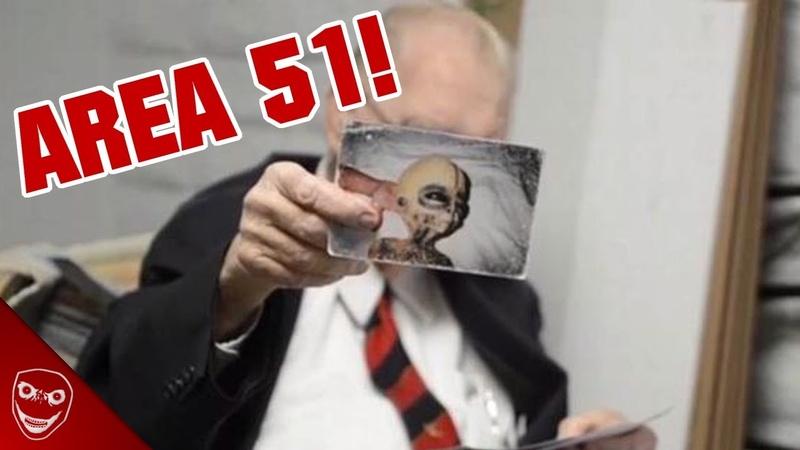 AREA 51 Mitarbeiter zeigt Fotos von Aliens Boyd Bushman Mysterium