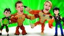 Видео игры - Бен 10 против Кевина Битва героев Омниверс! – Онлайн видео для мальчиков.