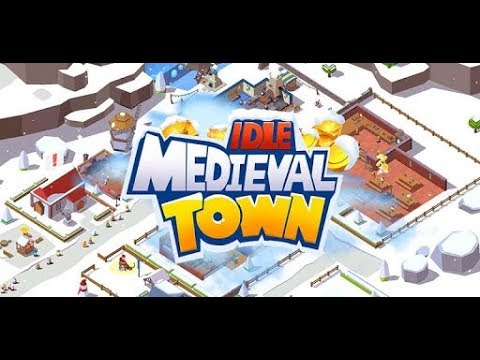 Idle Medieval Town Xmas android game first look gameplay español