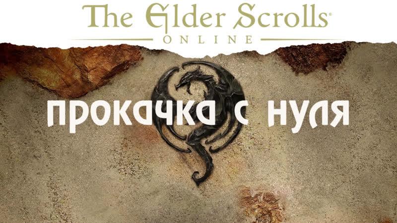 The Elder Scrolls Online Ить качается с нуля!