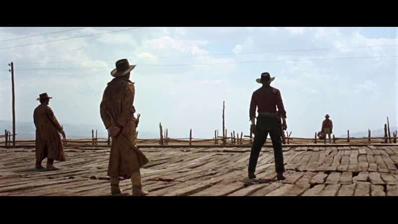 Once Upon A Time In The West (1968) - Two Horses Too Many