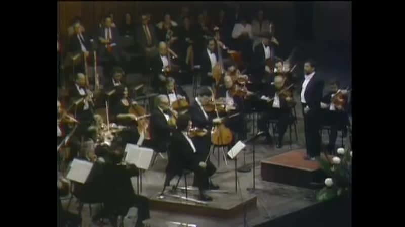 Моцарт. Концертная симфония K.364. Перельман Цукерман Мета