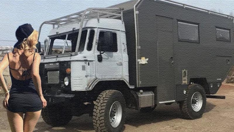 Российская компания взяли старую Шишигу и сделали из него элитный дом на колесах