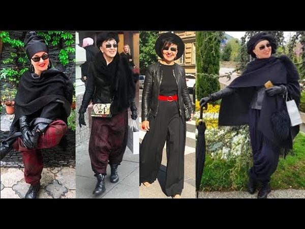 Образы аутфиты на осень Главный тренд моды индивидуальность Cтиль женщин 40 50 60