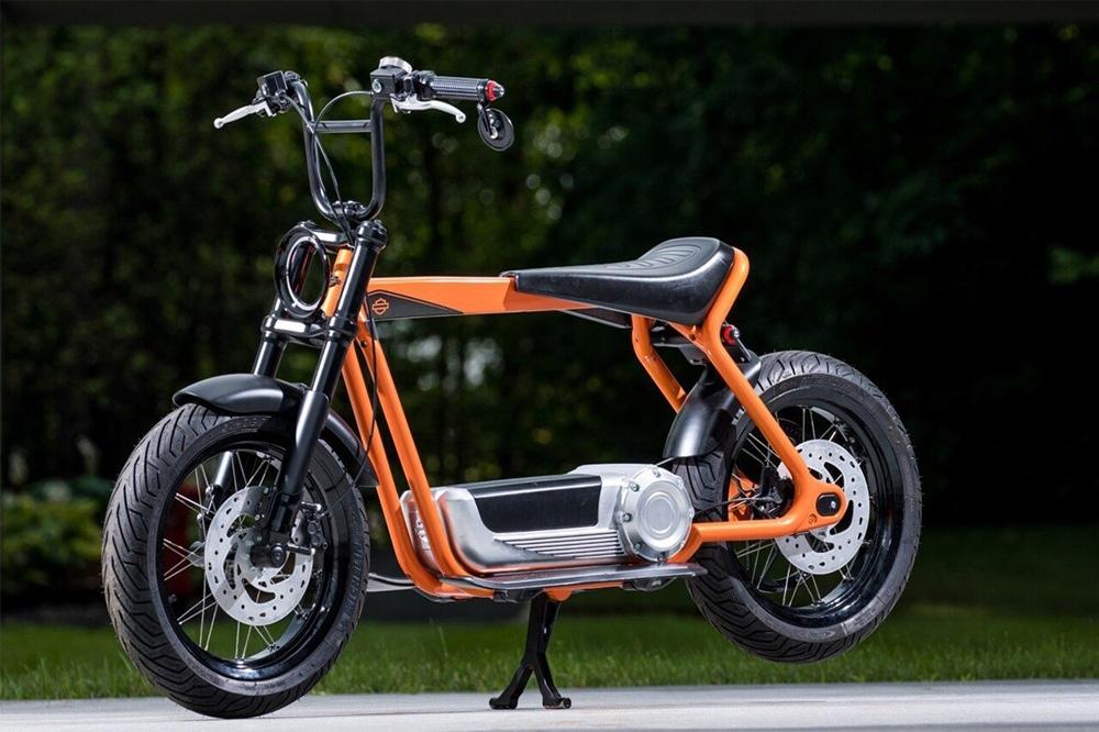 Компания Harley-Davidson патентует электрический скутер