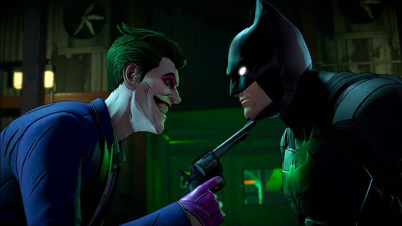 Бэтмен враг внутри - Эпизод 5 Кто смеётся последним. Альтернативная сюжетная линия. Часть 1