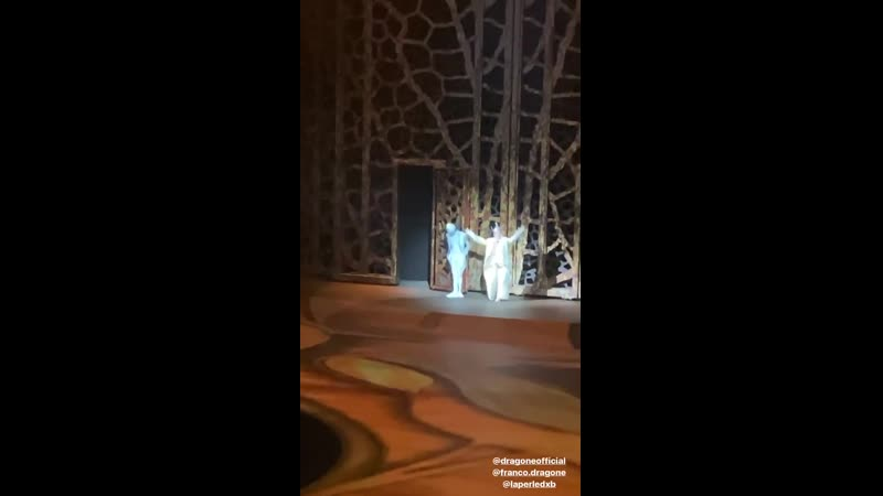 Филипп Киркоров на шоу Франко Драгоне