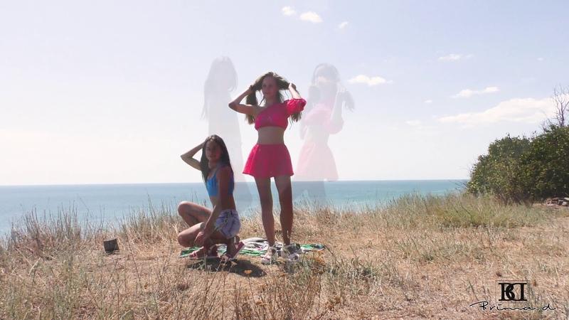 Model agency Brima.d in summer trip, posing near Black Sea