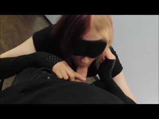 Teen femboy sucks for his daddy and get cumshot on face