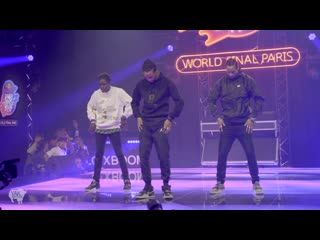 Les Twins ft Salif Performance at Redbull DYS World Finals  Paris, France YAK FILMS