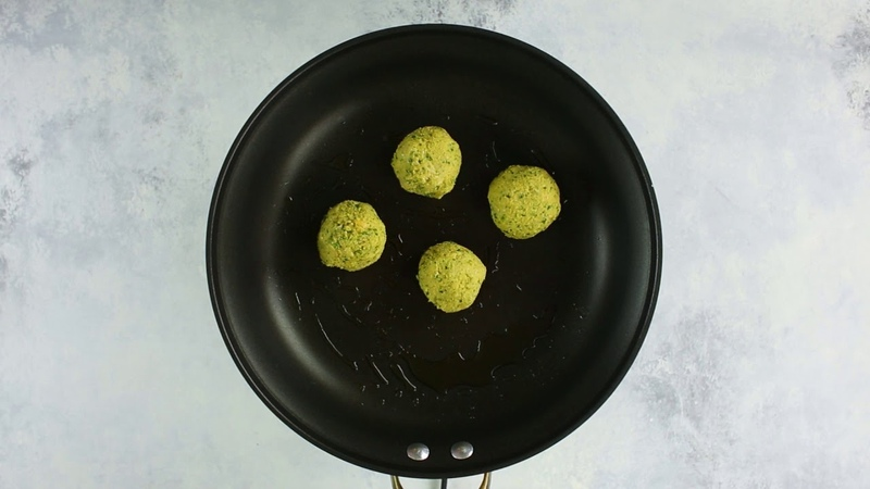 Love Falafel? Try These Healthier Chickpea Fritters with Garlic Herb Sauce
