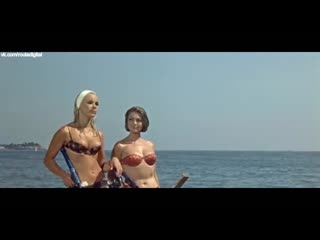Elke sommer, sylva koscina deadlier than the male (1967) nude? sexy! / эльке зоммер, сильва кошина беспощаднее мужчин