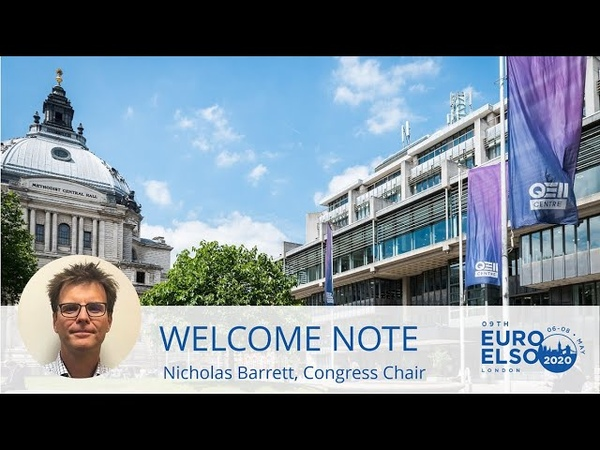 EuroELSO Congress 2020: Welcome Note