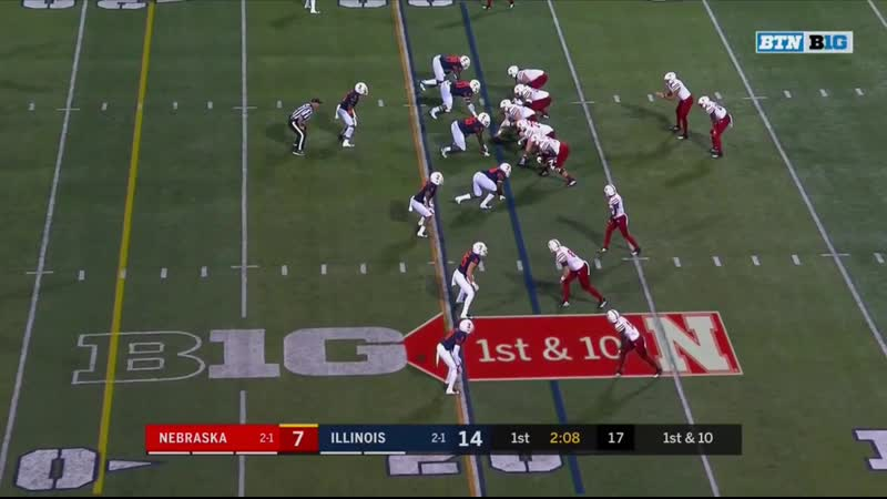 2019 WK04 Nebraska at Illinois