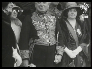 Wedding of Princess Mary to Viscount Lascelles (1922)