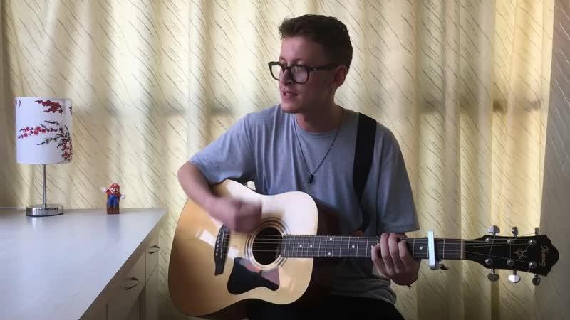 ПАРЕНЬ ОЧЕНЬ ОФИГЕННО ПОЁТ!! Terry - Домофон cover на гитаре
