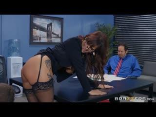 Syren De Mer - Red Hot Boss From Hell  [2019, Big Ass, Big Tits, High Heels, Piercing, Redhead, Tattoo, 1080p]