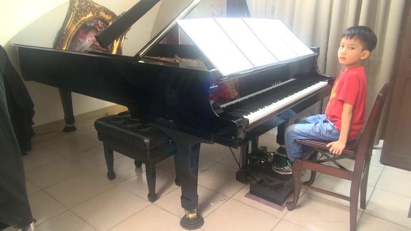 (王郁祺之子-張歐柏斐)(頭家國小)2017/03/22(練習篇07)Debussy Dr. Gradus ad Parnassum Children_s Corner德布西 鋼琴進階