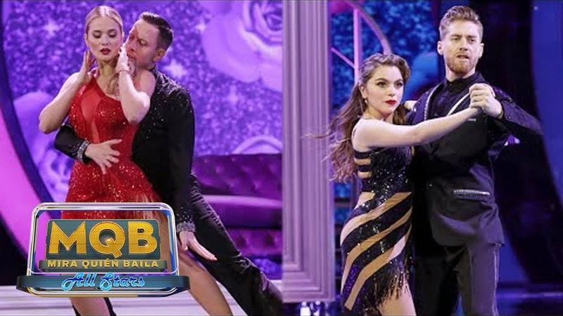 El tango revela el talento para esta disciplina de Kimberly Dos Ramos y Sofía Castro MQB