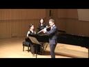 O. Taktakishvili: Sonata for flute and piano in C Major. II. Aria