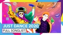 JUST DANCE 2020 FULL SONGLIST OFFICIAL