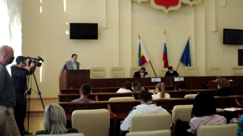Публичные слушания по новому проекту Правил благоустройства и санитарного содержания города Азова
