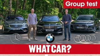 2020 BMW 7 Series vs Audi A8 vs Mercedes S-Class review – ultimate luxury limos tested   What Car?