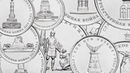 Серия монет Сражения и знаменательные события войны 1812 года